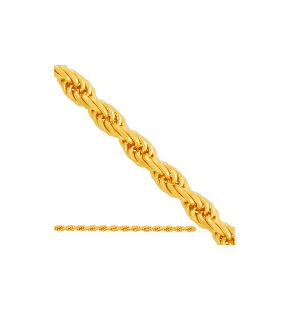 Rope Chain aka kordel złoto 0.585 (dmuchany)
